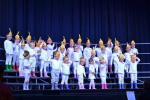 Dalby Beck Street Kindergarten performing at Eisteddfod