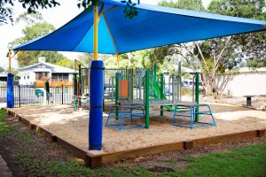 Playground at Dalby Beck Street Kindergarten