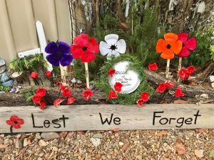 Anzac Day at Dalby Beck Street KindergartenDalby Beck Street Kindergarten