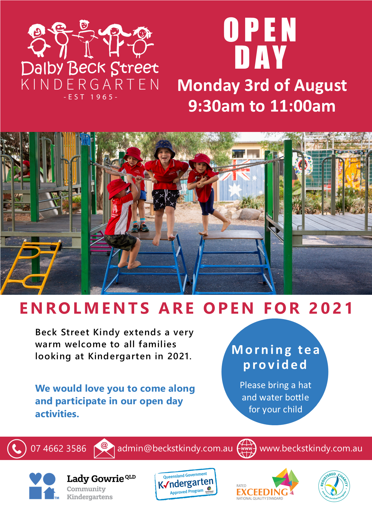 Open Day Poster